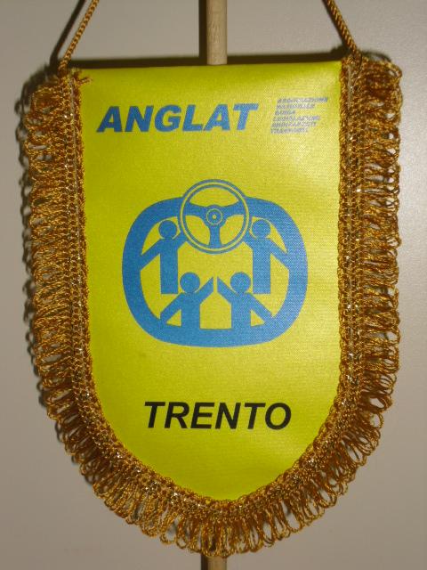 gagliardetto della ANGLAT di Trento
